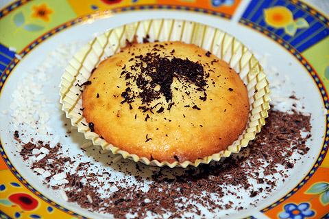 Muffiny z kokosem