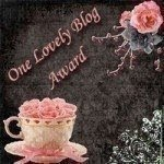 Wyróżnienie. One Lovely Blog Award.