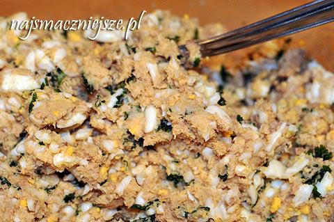 Pasta z wędzonej makreli i jajka