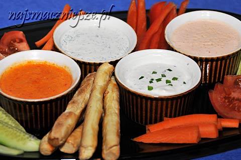 Dip, sos – uzupełnienie przystawek
