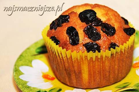 Muffiny z miodem i pomarańczą
