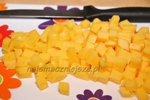 Chlebowe muffiny z serem