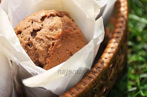 Muffiny z czekolady