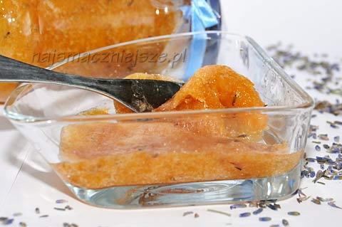 Dżem z brzoskwinia i nektarynka