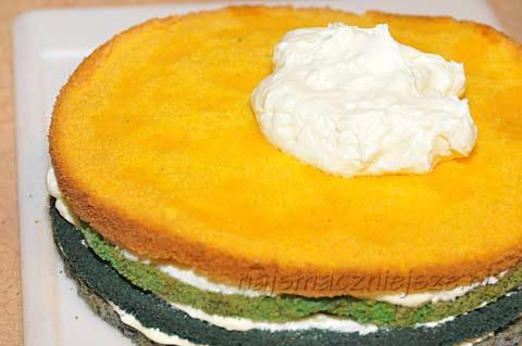 Kolorowy tort