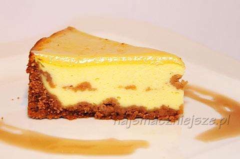 Sernik śmietankowy (Creamy Cheesecake)