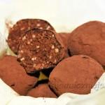 Trufle migdałowo-czekoladowe