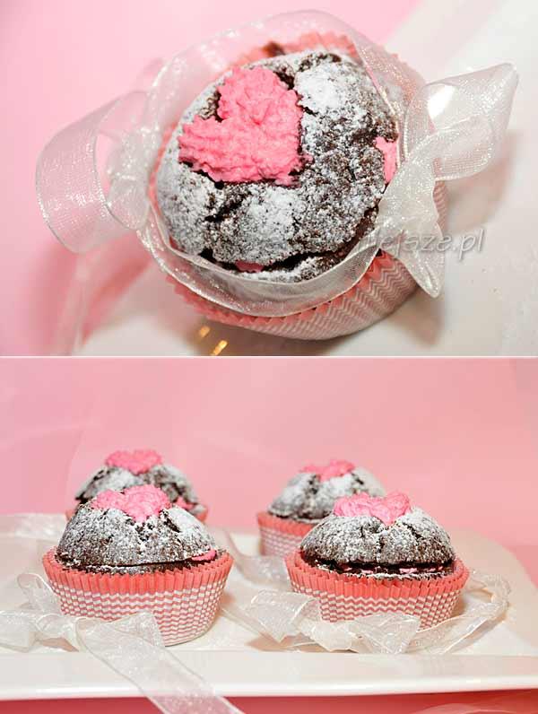 Muffinki na Walentynki