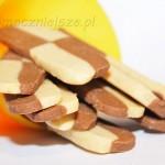 Szachownice waniliowo-czekoladowe