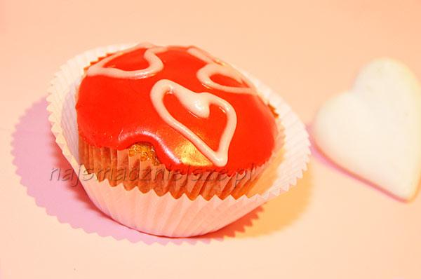Muffina z sercem