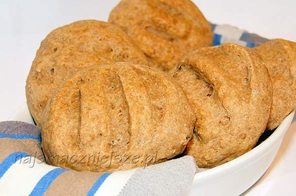 Bułki z mąki orkiszowej