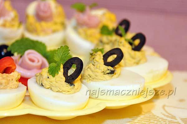 Jajka faszerowane oliwkami