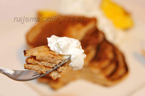Placuszki pełnoziarniste na śniadanie