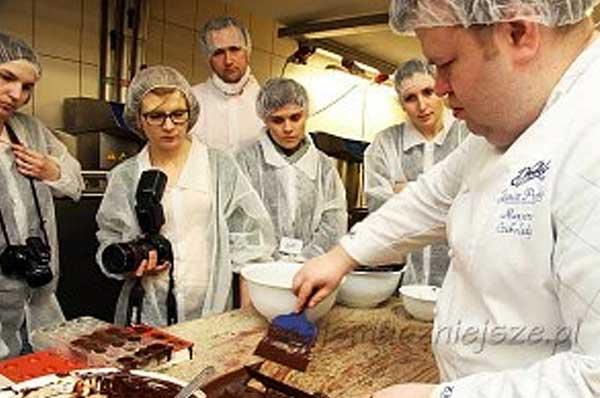 Temperowanie czekolady na Warsztatach