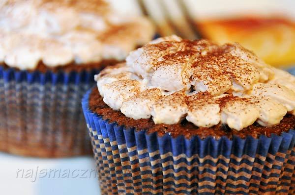 Babeczki czekoladowo-kokosowe