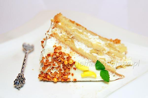 Tort śmietankowo-bananowy
