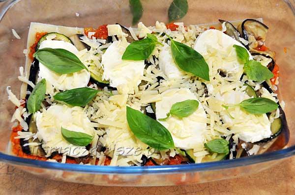 Lasagne z mozzarellą