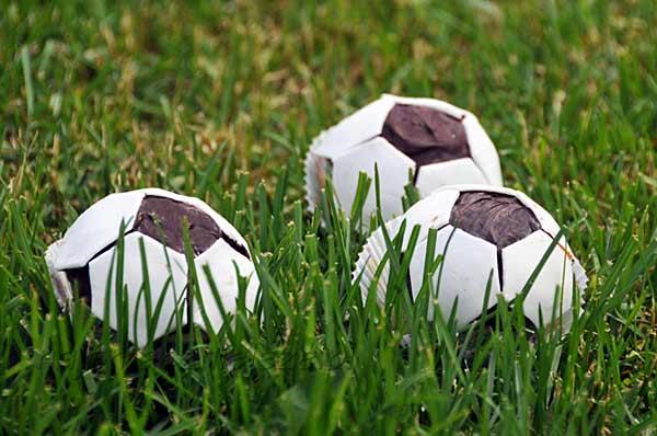 Muffiny piłki dla małego kibica