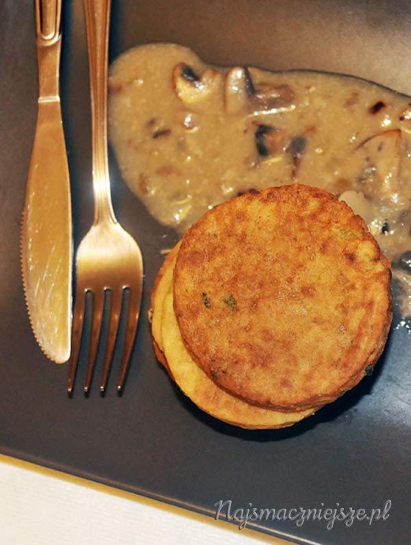 Kotleciki ziemniaczane z piekarnika