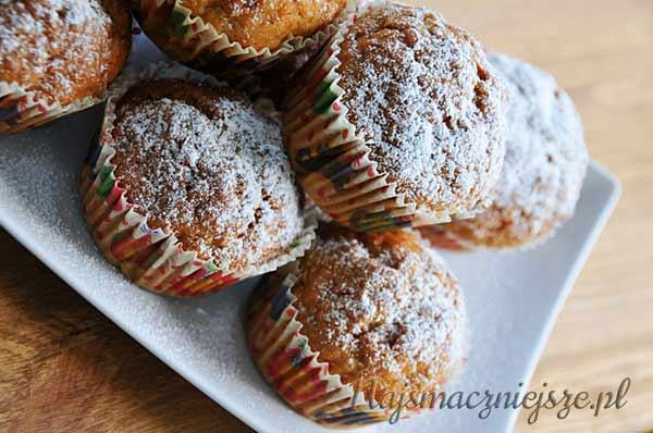 Muffiny marchewkowe z cynamonem