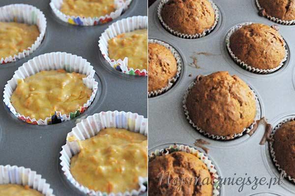 Muffiny w papilotkach