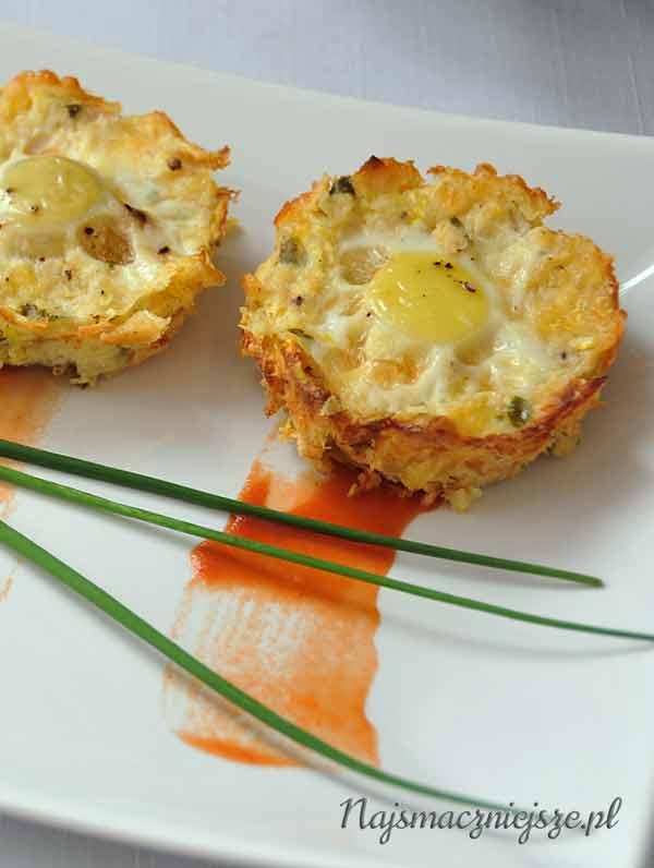 Muffiny z jajkami przepiórczymi