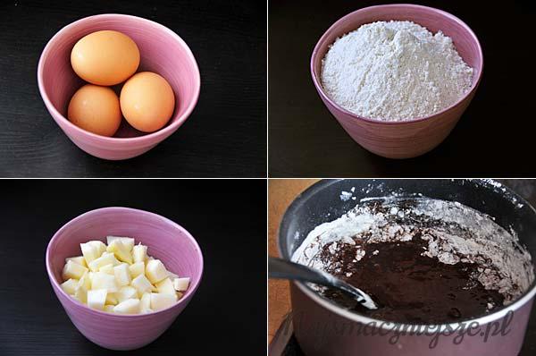 Jajka i mąka