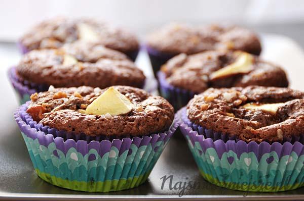 Muffiny z cynamonem