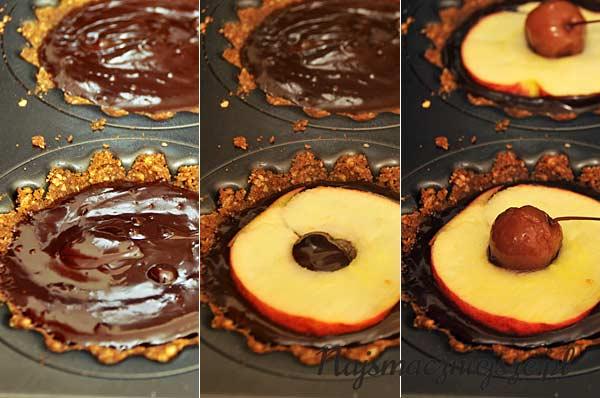 Tartaletki z czekoladą