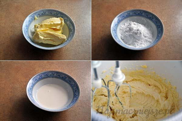 Przygotowanie ciasteczek maslanych