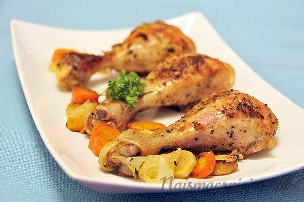 Pałki kurczaka w ziołach