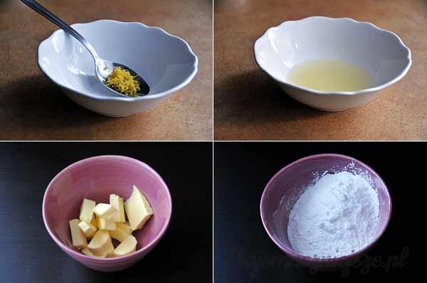 Przepis na krem cytrynowy