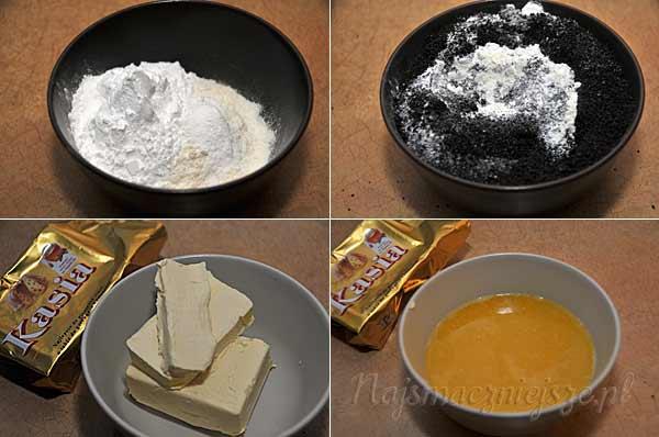 Mąka z makiem i margaryna