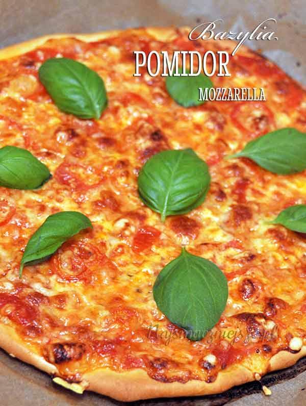 Pizza z mozzarellą