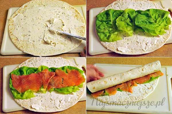 Tortilla Z Lososiem Najsmaczniejsze Pl