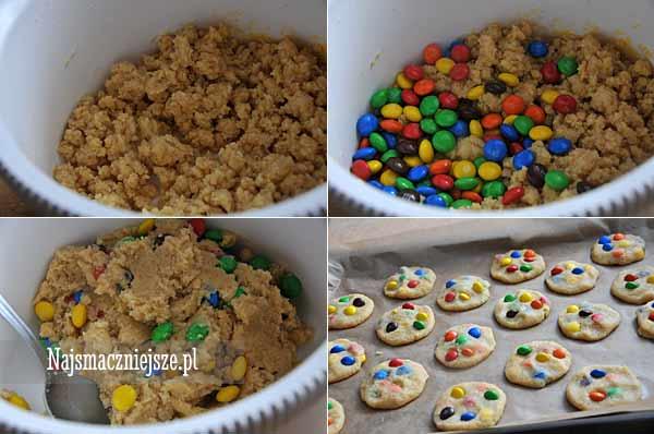 Ciasteczka z cukierkami