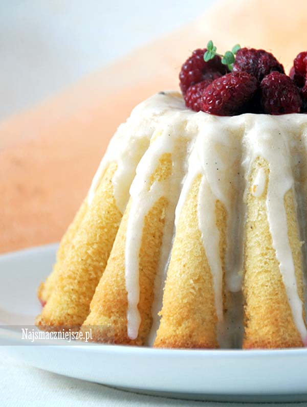 Ciasto z wanilia