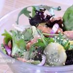 Sałatka z kurczakiem w sosie teriyaki