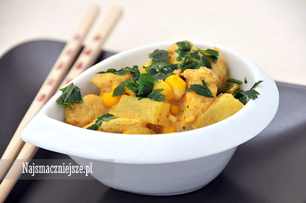 Kurczak Curry Z Ananasem Najsmaczniejsze Pl