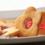 Ciasteczka maślane z galaretką