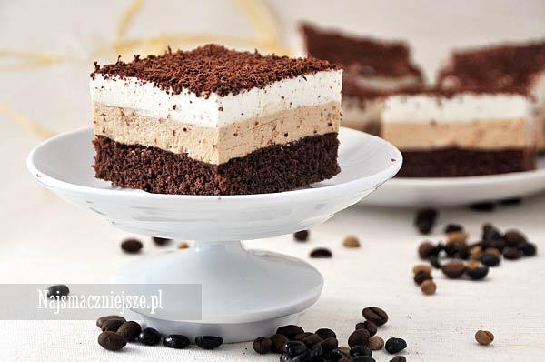Ciasto delikatnie kawowe
