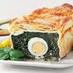Pasztet ze szpinaku i jajek