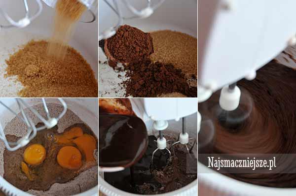 Przygotowanie brownie