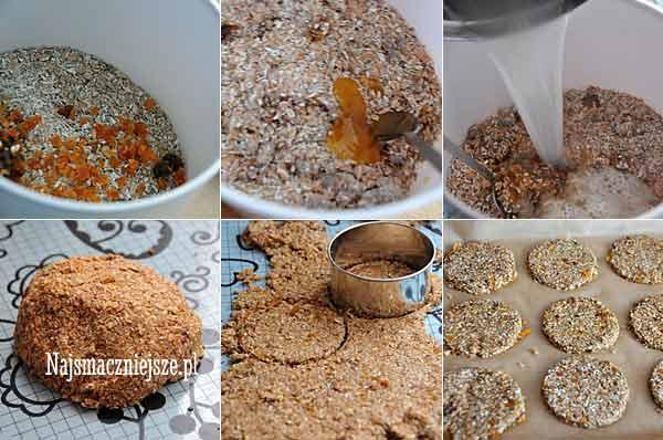 Przygotowanie ciasteczek