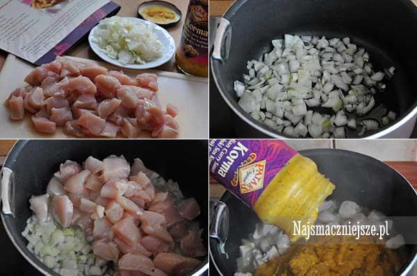 Przygotowanie curry