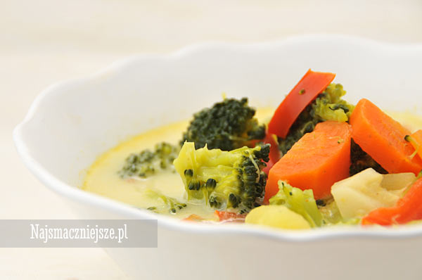 Zupa z curry