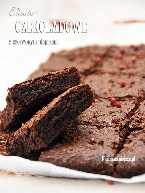 Brownies z czerwonym pieprzem