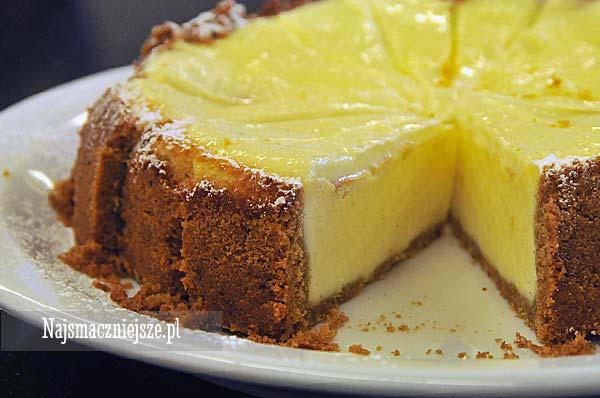 Sernik Nowojorski New York Cheesecake Najsmaczniejszepl