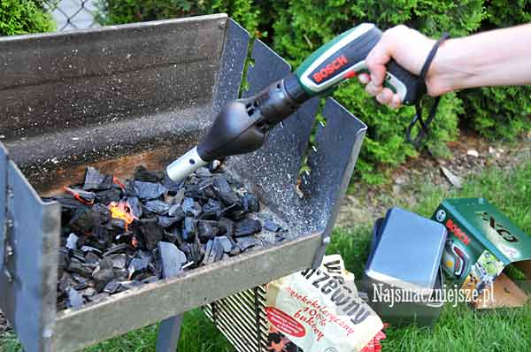 Girillowy test Bosch IXO Barbecue