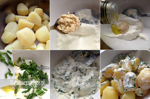 Przygotowanie sałatki